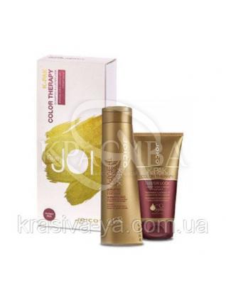 Набор подарочный K-Pak CT (Шампунь + Маска для защиты цвета и блеска волос ), 300 мл + 140 мл : Beauty-боксы для волос