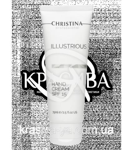 Illustrious Hand Cream SPF 15 Защитный крем для рук SPF 15, 75 мл - 1
