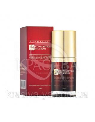 Dermaheal Cosmeceutical Eye Cream Омолаживающий крем для кожи вокруг глаз. Разглаживает морщины, 15 мл
