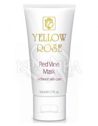 Маска з поліфенолами червоного винограду : Yellow Rose