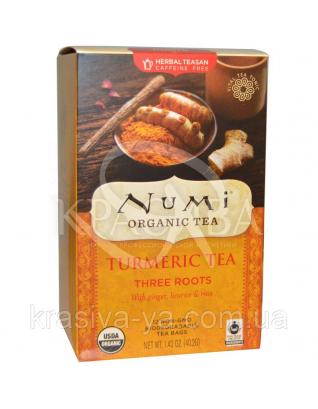 """NUMI Трав'яний тизан """"Три кореня"""" / Herba Teasan """" Three Roots """", 18 пакетиків : Numi"""