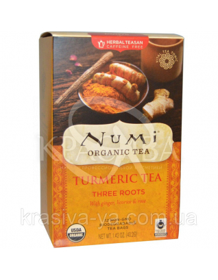 "NUMI Травяной тизан "" Три корня "" / Herba Teasan "" Three Roots "", 18 пакетиков : Травяной чай"