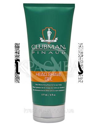 Гель для гоління голови Clubman, 177 мл : Clubman