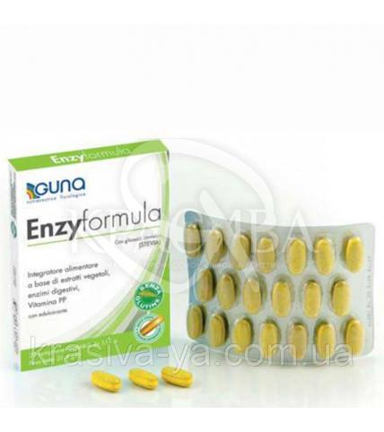 Enzyformula Харчова добавка (травлення, функції печінки і детоксикації), 20 таб.*1.18 р - 1