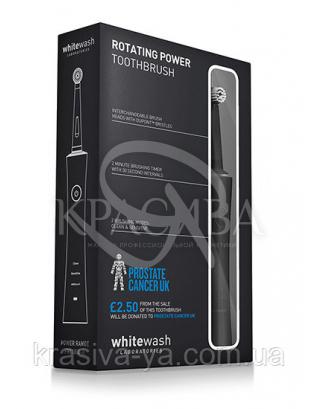 "Електрична зубна щітка ""Чорна"", 1 шт : WhiteWash Laboratories"