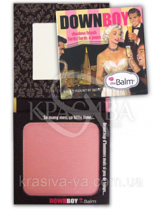 The Balm BOY's Blush Down Boy-Matte Baby Pink (Tester) - Румяна, 8.5 г : TheBalm