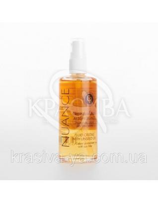 Nuance CP Флюид с маслом семян льна и УФ-фильтром, 100 мл : Флюид для волос