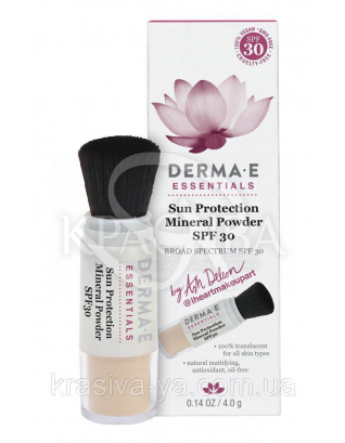 Сонцезахисна крем-пудра на основі мінерального порошку Sun Protection Brush on Mineral Powder SPF30, 4 г :