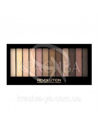 MUR Redemption Palette - Палетка из 12 оттенков теней (Essential Mattes 2), 14 г : Makeup Revolution