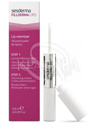 Filliderma Lips Lip Volumizer - Набор для губ бальзам мгновенного действия + крем-активатор, 6 мл+6 мл : Крем для губ