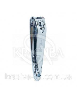 Beter Кусачки для ногтей маникюрные с пилочкой, хромированные, 5.3 см : Товары для маникюра и педикюра