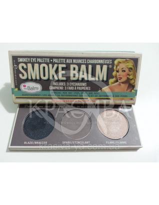 The Balm Mini Palettes SmokeBalm Vol.1-Brown Packaging - Палетка теней для век, 10.2 г : Палетки