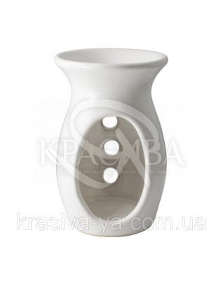 Аромалампа керамічна Ecru Сіро-бежева, 1 шт : Аксесуари для ванної