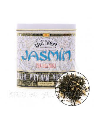 TdO Органический Вьетнамский зеленый чай с жасмином / Organic Jasmine Green Tea Vietnam, 100 г : Органический чай