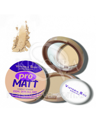 VS Pro Matt Powder Пудра компактна основа 422, 8 г : Пудра для обличчя