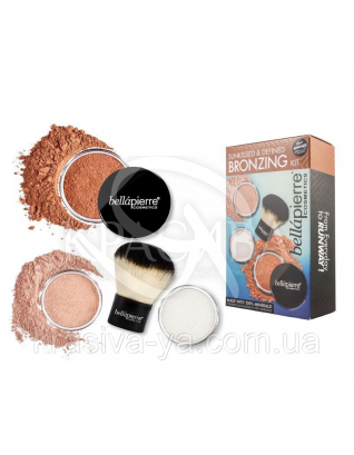 Набор рассыпчатых пудр для лица и тела с эффектом загара : Beauty-наборы для макияжа