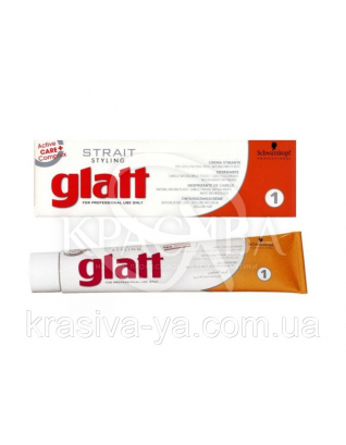 Strait Styling Glatt Kit1 - Набор для выравнивания волос 1, 80 мл : Средство для ламинирования волос