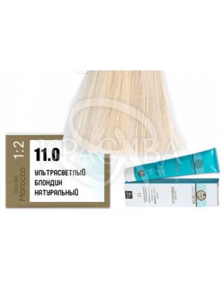 Barex Olioseta ODM-Крем-краска безаммиачная с маслом арганы 11.0 Ультра светлый блондин натуральный, 100 мл :