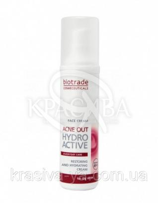 """Acne Out Крем """"Гидроактив"""" против угревой сыпи, 60 мл : Biotrade"""