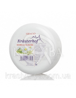 Krauterhof Крем ежедневный универсальный с экстрактом ромашки, 100 мл : Кремы для тела
