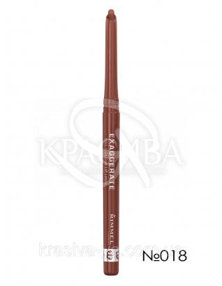RM Exaggerate -Карандаш для губ (018-Addiction), 0,25 г : Карандаш для губ