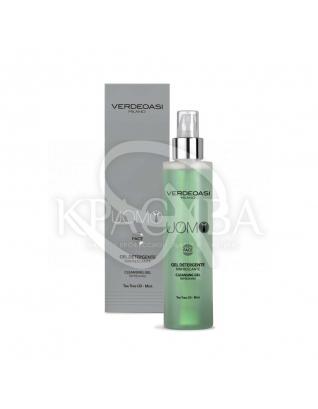 Очищаючий, освіжаючий гель з маслом Чайного дерева і М'яти, 200 мл : Verdeoasi