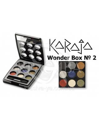 Karaja Палітра тіней для повік Wonder Box 2, 3 г