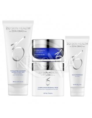 Набор для ухода за кожей с акне : ZO Skin Health
