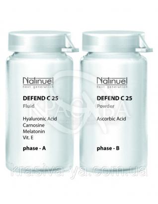 """Біозахисний флюїд-антиоксидант """"Дефенд Вітамін С 25, 10 мл : Natinuel"""