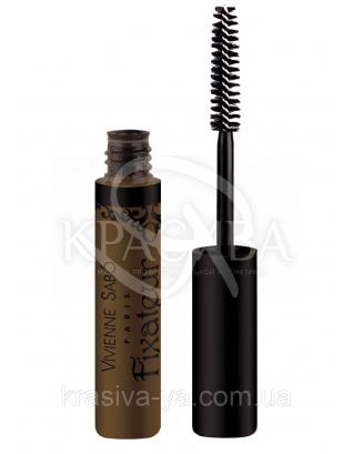 VS Fixateur - Гель для бровей и ресниц фиксирующий (коричневый), 6 мл : Гели для бровей