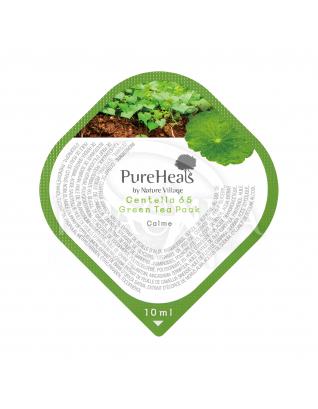 Маска відновлююча з екстрактом центелли і зеленим чаєм : PureHeal's