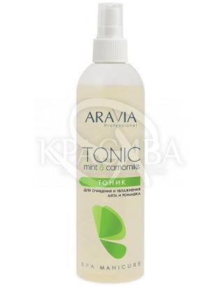 Aravia Тоник для очищения и увлажнения кожи с мятой и ромашкой, 300 мл