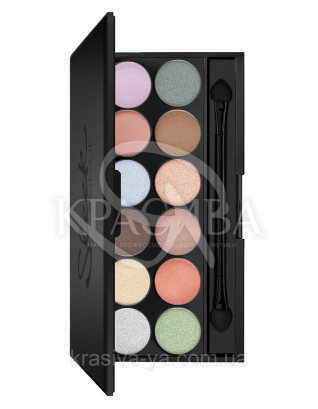 Sleek I-Divine Palette Nordic Skies - Палетка тіней для повік, 12*1.1 м : Sleek make up