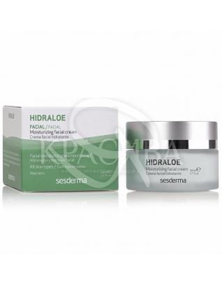Hidraloe Moisturizing Facial Cream - Зволожуючий крем для обличчя, 50 мл :