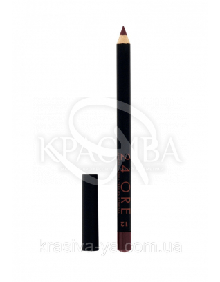 "Стойкий косметический карандаш для губ ""Lip Pencil 24 Ore"" 12 Plum, 1.5 г : Карандаш для губ"