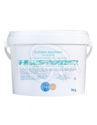 Jasmine Gourmet Body Scrub - Жасминовый скраб гурмэ (с сахаром и солью), 3000 г :