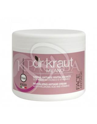 Dr.Kraut Revitalizing Antiage Cream - Ревитализирующий антивозрастной крем с гиалуроновой кислотой, 500 мл