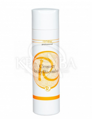 Гель очищающий для нормальної і сухої шкіри : Renew