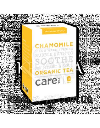 "Care Chamomile - Трав'яний тизан ""Ромашка"" пакети, 18 шт : Care Tea"