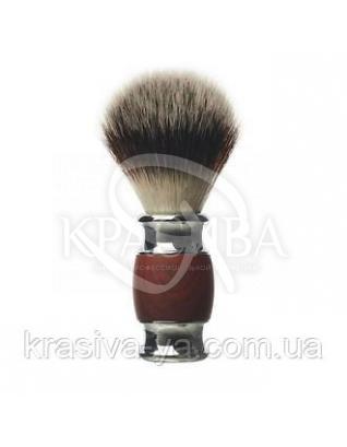Помазок для бритья из дерева и алюминия : Помазок для бритья