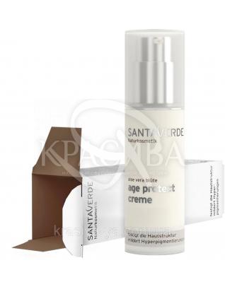 SV Крем для лица антивозрастной на основе цветов Алоэ / Aloe Vera Blossom Age Protekt Moisturiser, 30 мл :