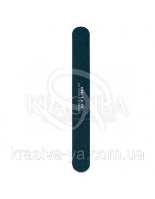 Beter Viva B Пилочка для ногтей двухсторонняя, стекловолокно в блистере, 120-180 гран, 17.5 см : Товары для маникюра и педикюра