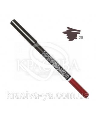 Олівець для губ Lip Liner New 028, 1.5 м : Layla