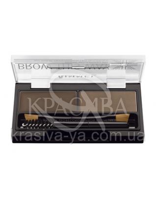 RM Brow This Way - Набор для моделирования бровей (003-Dark Brown / темно-коричневый), 1,1 г + 1,3 г : Beauty-наборы для макияжа