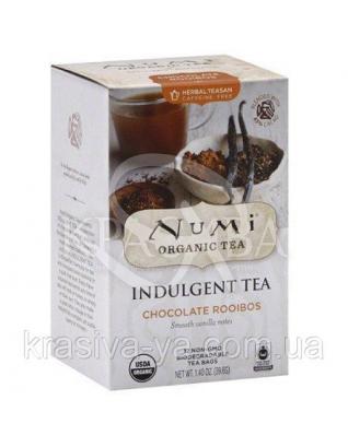 """NUMI Черный чай """" Шоколад и специи """" / Chocolate Spice, 12 пакетиков : Органический чай"""
