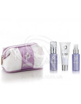 Pochette Cleansing Clean - Очищуючий набір, 50 мл+50 мл+50 мл+косметичка