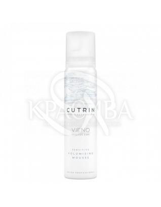 Cutrin Vieno Sensitive Volumizing Mousse - Объемный мусс для чувствительной кожи головы, 100 мл : Мусс для волос