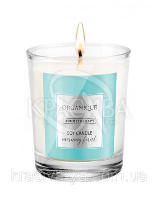 Свічка ароматерапевтична з соєвого воску Morning Forest, 180 г : Арома свічки