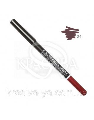 Олівець для губ Lip Liner New 024, 1.5 м : Layla