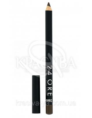 """Стійкий косметичний олівець для очей """"24 Ore Eye Pencil"""" 266, 1.5 м : Deborah Milano"""